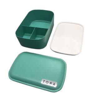 Zona Three-compartment Bento Box